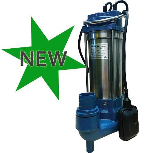 sewage grinder macerator pump