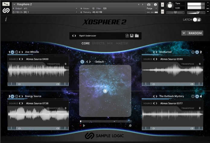 XOSPHERE 2 – A Creative Atmosphere Engine by Sample Logic