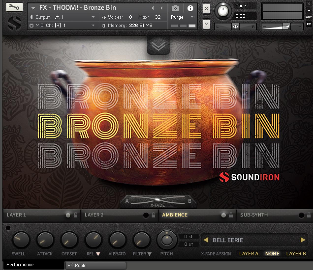 Soundiron did upgrade their classic Kontakt Library: Bronze Bin 3 0