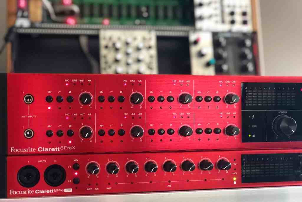 Clarett 8PreX by Focusrite - a Thunderbolt Audio Interface Review