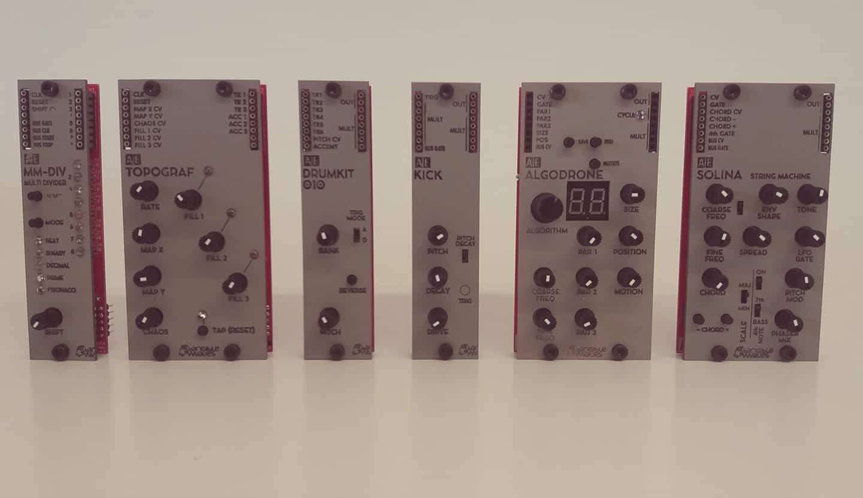 Tangible Waves AE Modular Drumkit 010 8 Bit Drum Sound Generator Module