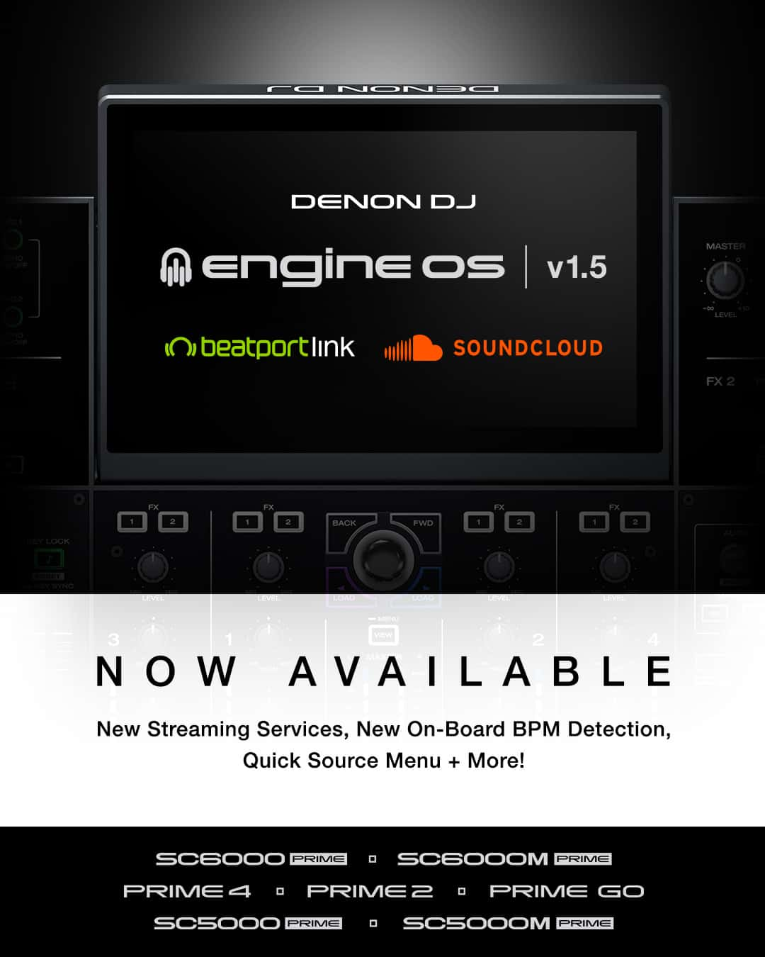 Engine® Dj Brings Soundcloud & Beatport Link To All Denon DJ ...