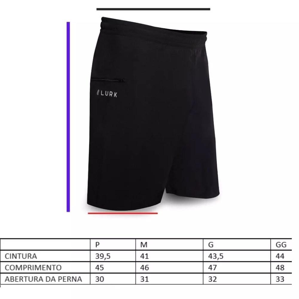 SHORT TREINO LURK V2 - BLACK
