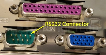 RS232 connector