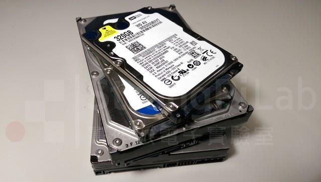 我試了這些硬碟