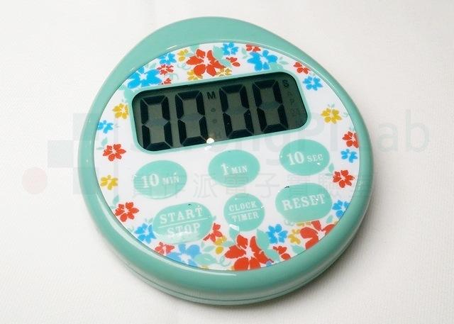 廚房 計時器 上視圖