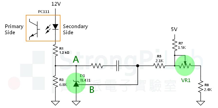 Counter 的電源電壓穩定線路