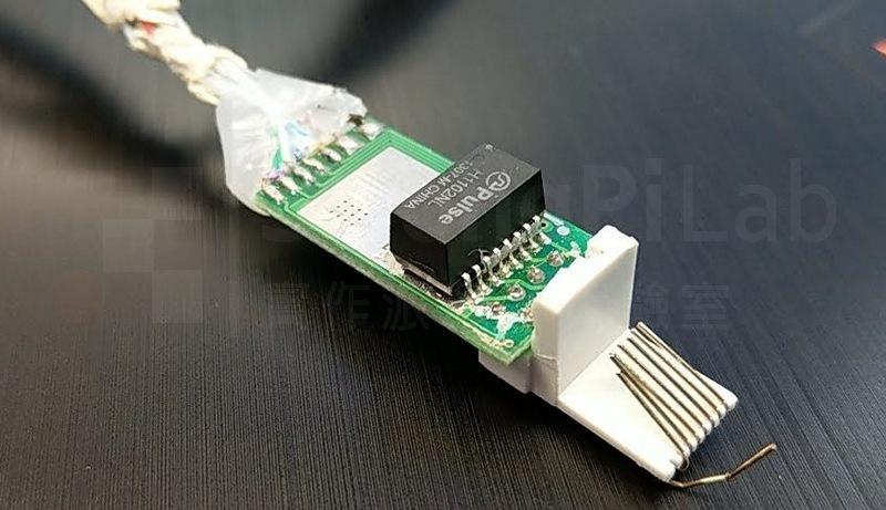 POE 尾線的電路板