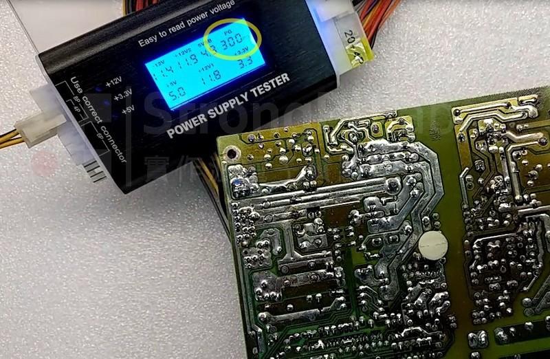 電源供應器 Power Good訊號終於出現