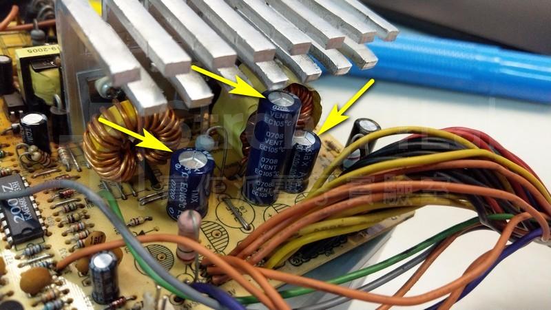 電容頂端鼓起表示電容老化