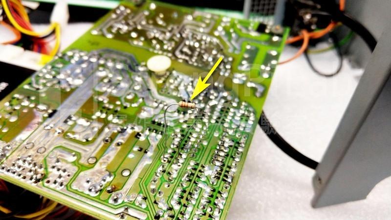 替換偵測12V的串接電阻