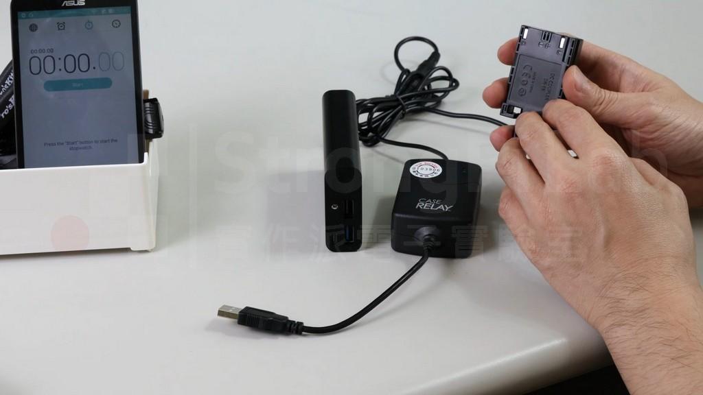 中繼電池號稱不會讓 相機斷電