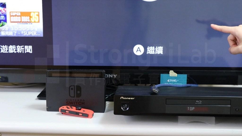 拔除藍光機的HDMI讓CEC恢復操作