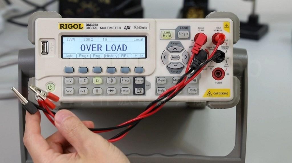 電壓與電流導線的接法