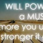 Mental Skills Monday: Willpower