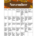 Smile Sunday: Self-Care Calendar