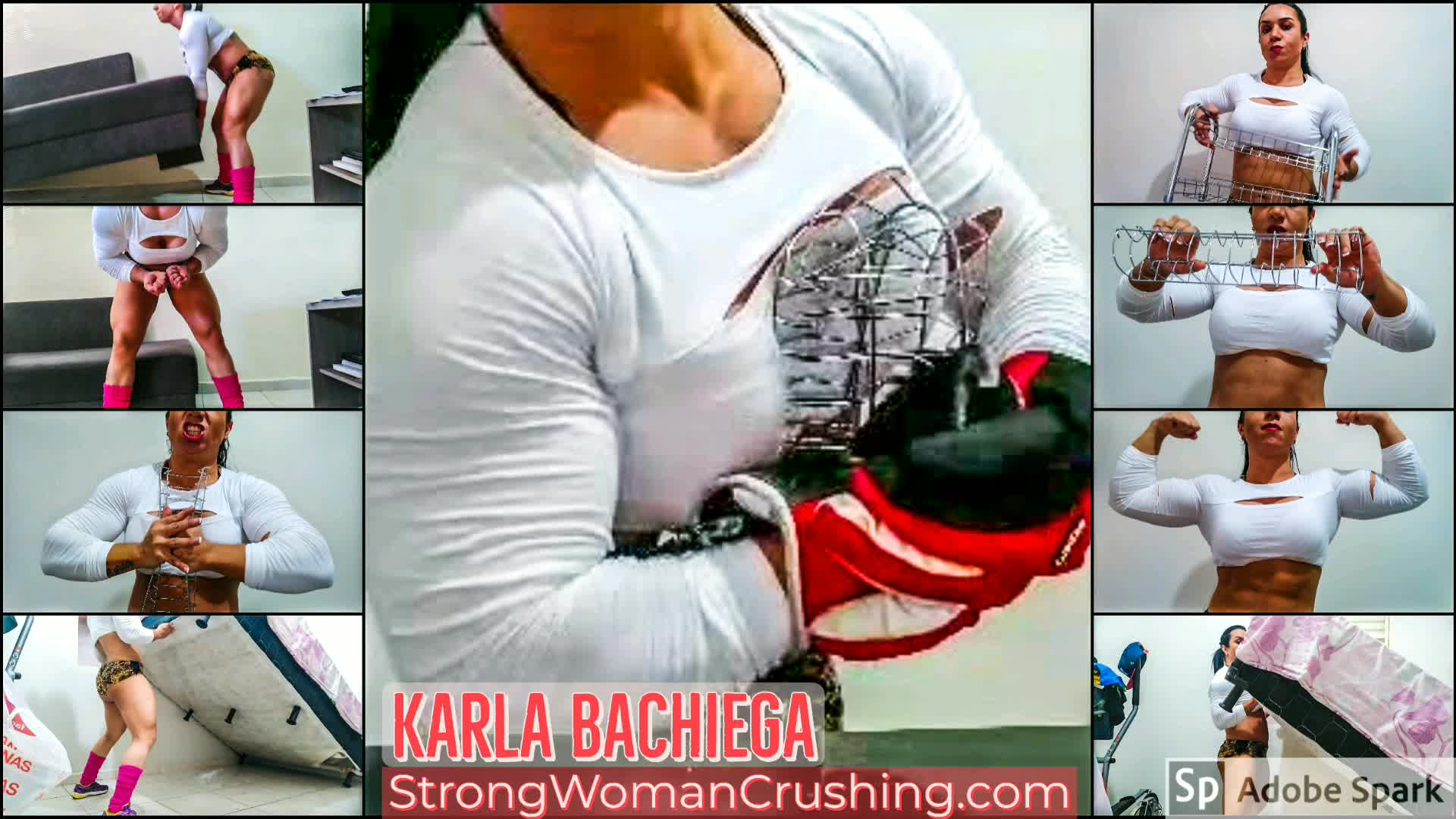 Karla kitchen destruction home workout