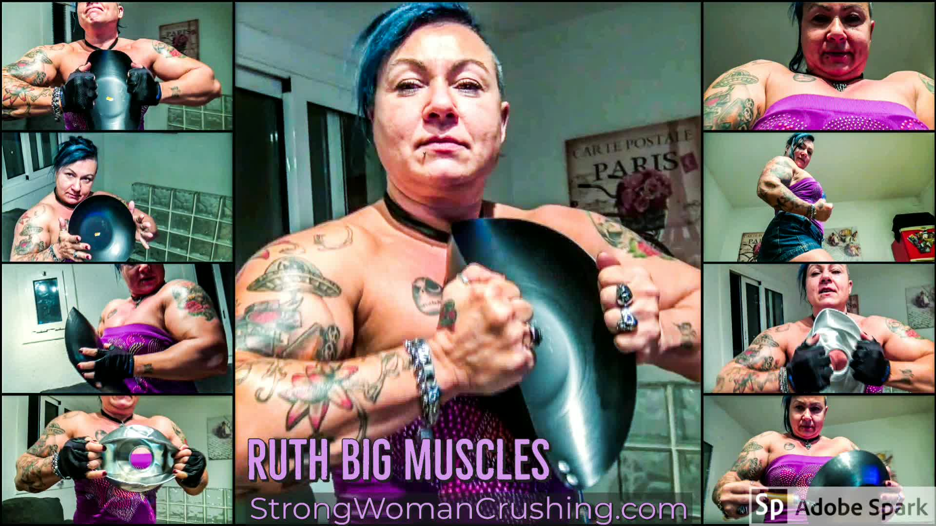 Ruth destroys pans