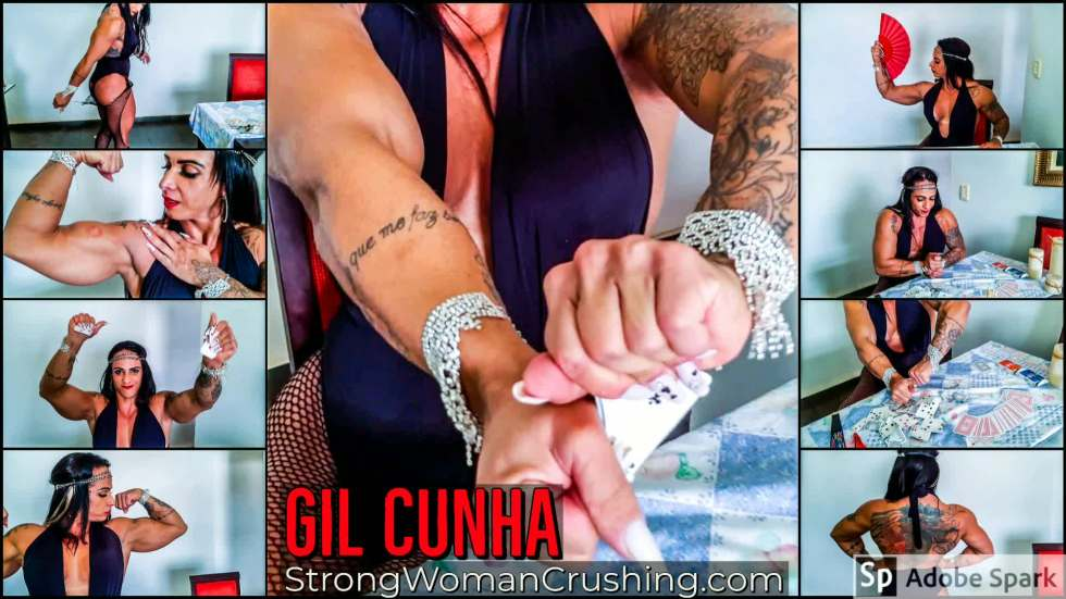 Gil Cunha muscle poker game