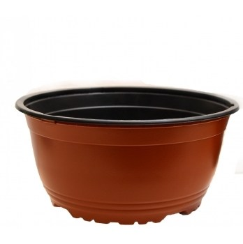 Ghiveci VSA maro(21 cm)