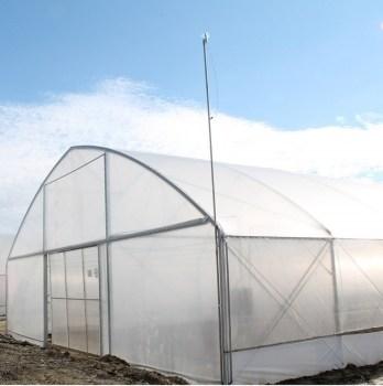 Solar gotic cu pereti verticali 10x60 m o folie