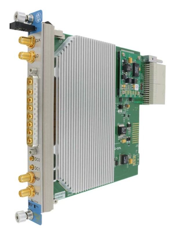 DWC8VM1 MTC.4 Downconverter/Vector modulator RTM