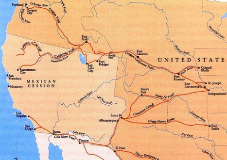 Map of oregon trail edi maps full hd maps only stretch of the oregon trail system to ever be old topographical map print oregon trail nebraska of fremont old topographical map print oregon trail publicscrutiny Image collections