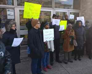 Justice for Jazmine! rally supports Black mother and infant assaulted by cops