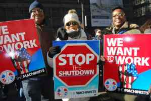 Unions call for end of anti-worker shutdown