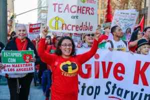 ¡Apoye a lxs maestrxs, trabajadorxs escolares y estudiantes de Los Ángeles!