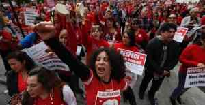 Support Los Angeles teachers, school workers and students!