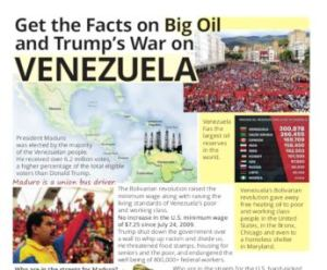 Get the Facts on Big Oil and Trump's War on Venezuela