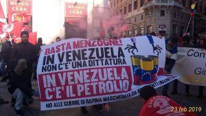 People worldwide stand with Bolivarian Venezuela