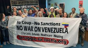 In Los Angeles: 'Hands Off Venezuela'
