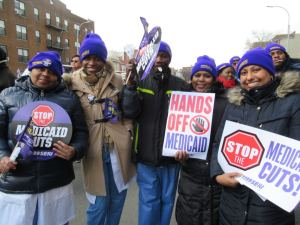 New York health care workers fight Medicaid cuts