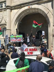 Community, activists demand 'Free Mumia!'
