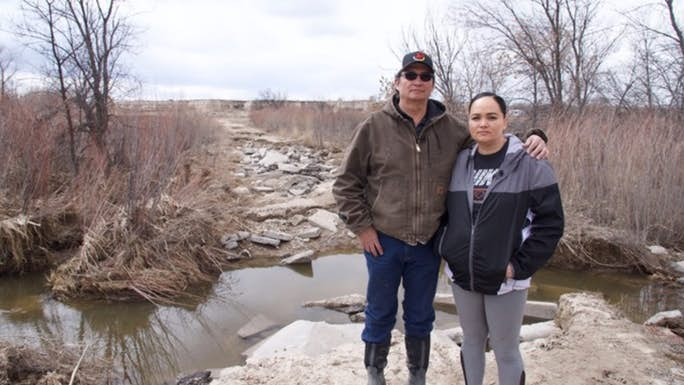 Four die at Pine Ridge reservation while federal government ignores pleas for flood aid