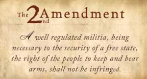 The Second Amendment isn't for everybody