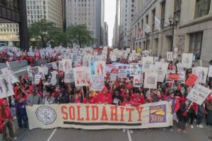 Chicago teachers strike continues