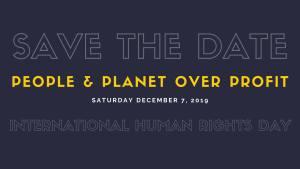 Washington, D.C., Dec. 7: International Human Rights Day Rally
