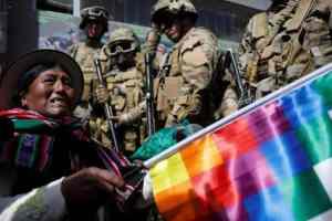 Bolivia: Naked fascism