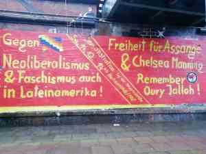 New Years greetings from No Pasarán Hamburg