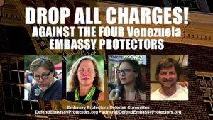 Venezuela Embassy Protectors case ends in mistrial — new hearing set for Feb. 28