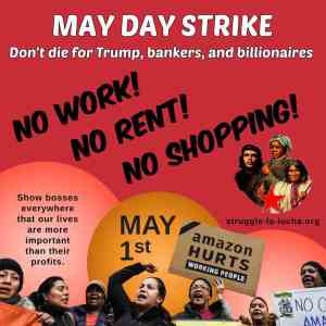 May Day 2020: Strike, don't die for Trump and capitalism!