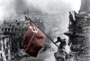 The Soviet victory in the Battle of Berlin ended Nazi terror