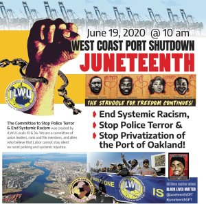 ILWU urges labor action to fight police terror