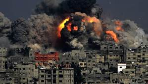 Stop the bombing! End the blockade! Let Gaza live!
