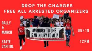 Denver Sept. 19: Drop the Charges! Solidarity with Arrested Anti-Racist Organizers