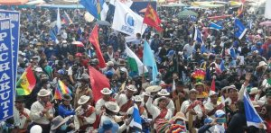 Against the right-wing disinformation campaign on Bolivian elections!