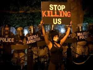 Police killings = modern day lynchings